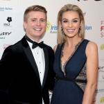 Brian Ormond and Pippa O Connor pictured at the Keith Duffy Foundation Charity Ball at Powerscourt Hotel in Enniskerry to raise funds for Irish Autism Action and Finn's First Steps Charities.. Picture: Brian McEvoy No Repro fee for one use