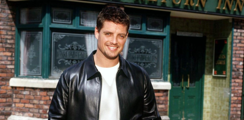 Coronation Street: July 2002 Ciaran McCarthy [Keith Duffy] TL494/18 Nicky Johnston
