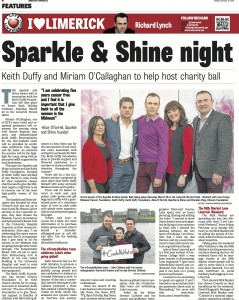 sparkle and shine ball with keith duffy 2016