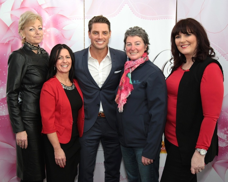 Keith Duffy & Miriam O Callaghan bringing some Sparkle & Shine to Limerick based charities